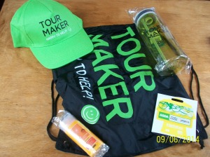 Tour Maker Hat and Bag